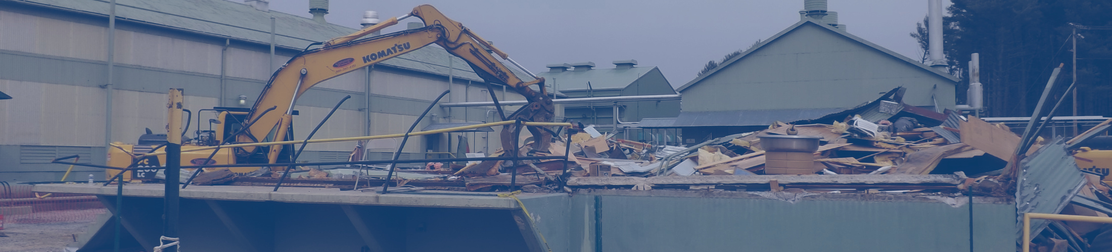 Demolition of PCB impacted Eletrical Building
