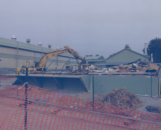 Demolition of Former Electrical Building that was impacted with PCBs