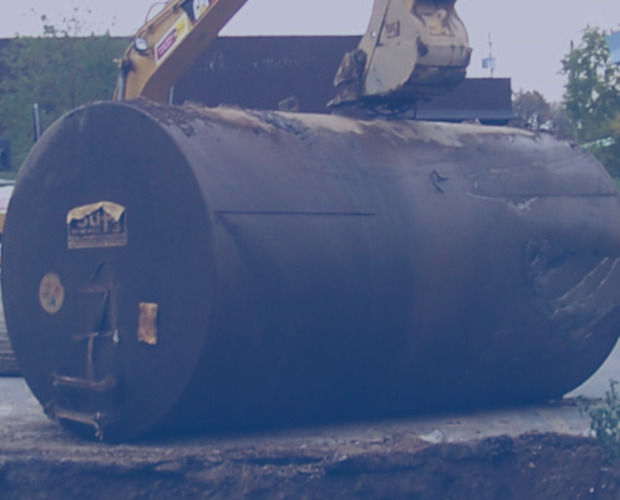 Environmental Remediation oversite of diesel underground storage tank removal