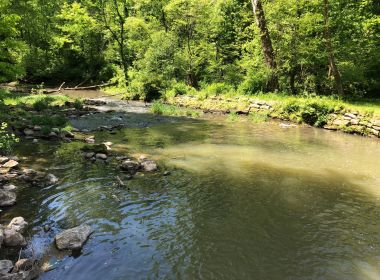 Stream Crossing to Repair an Existing Pipeline
